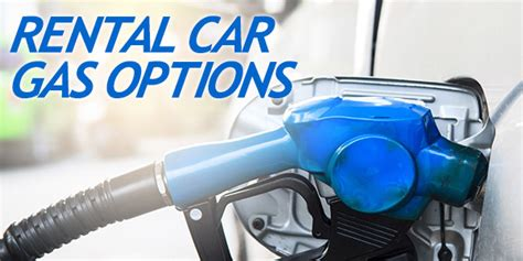Rent A Option May Be For Travelers by Rental Car Fuel Options Thrifty Options