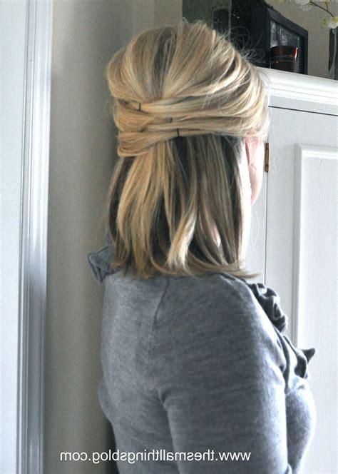 bridesmaid hairstyles down straight wedding hair half up half down short hair 1142 x 1600