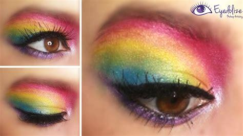 Eyeshadow For rainbow eye makeup ideas mugeek vidalondon