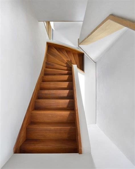 wooden staircases interior stairs in house in amsterdam by dutch studio egeon architecten staircases