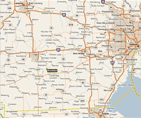 Michigan Finder Kalamazoo Michigan Map