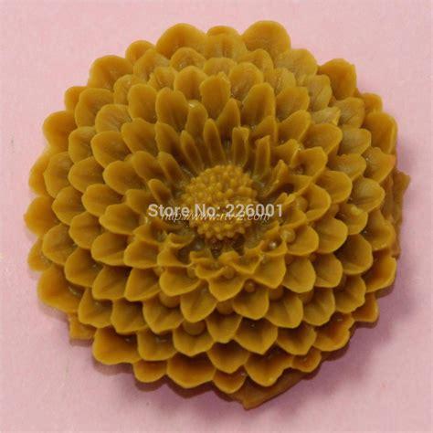 chrysanthemum flower silicone mold fondant cake decorating