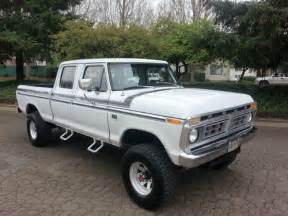 1974 Ford F250 Buy Used 1974 Ford F 250 Crew Cab 4x4 Highboy Auto V8 460