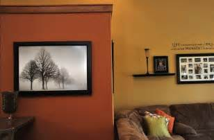 living room wall colors burnt orange paint color burnt orange accent wall that contrasts with the golden hue of