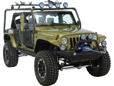 Jeep Armor Armor Jk 6124 Armor 4x4 Roof Rack Base Kit For