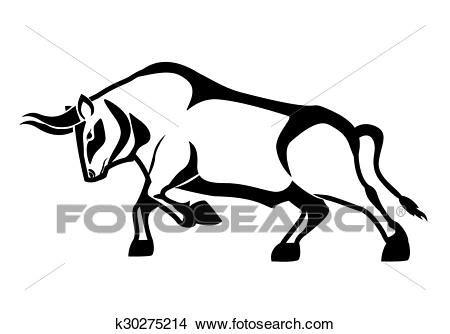 disegni cerca clipart clipart toro disegno k30275214 cerca clipart