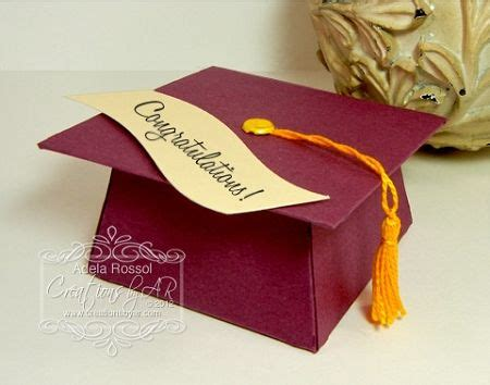 Graduation Cap Card Box Template by Graduation Check Out The Inside View Fill W Treats Or