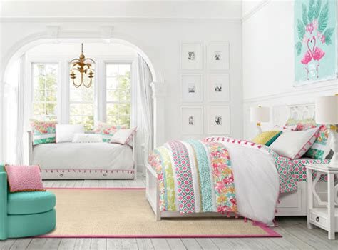 pbteen bedrooms elsie paradise patchwork bedroom pbteen