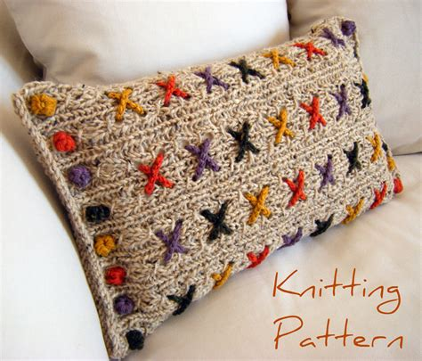 Pillow Cover Pattern by Knit Pillow Covers I Wallpaper