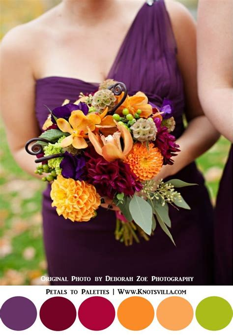 1000 ideas about the fall fall colors for weddings