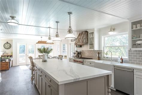 transitional kitchen with gray cabinets and farmhouse sink grey island kitchen traditional with custom hood