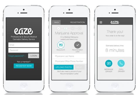 ui design tutorial medicine delivery app homescreen uber for pot service delivers marijuana 10 minutes