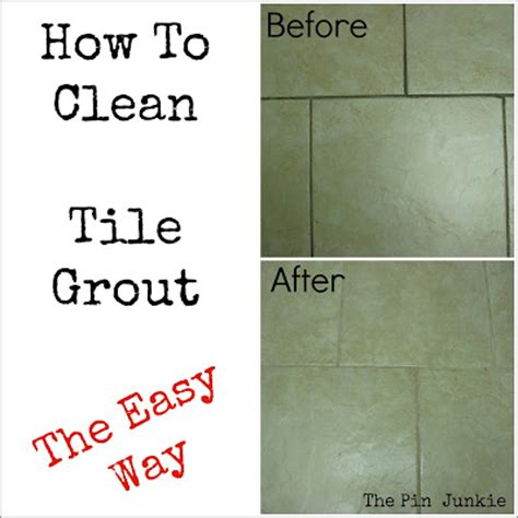how to clean bathroom floor grout the pin junkie july 2013