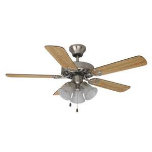 mainstays 42 quot ceiling fan with light kit satin nickel