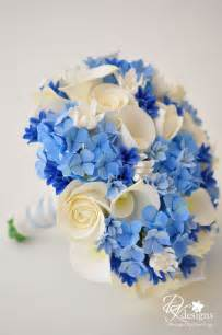 blue wedding flowers dk designs something blue bouquet boutonniere a special gift