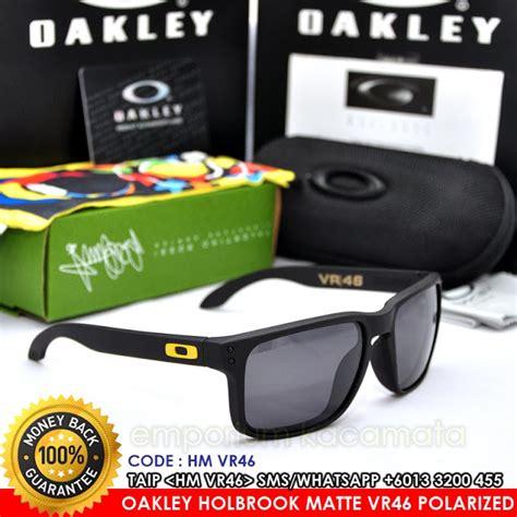 Kacamata Oakley Sliver Valentino Vr46 Yellow Lens Polarized oakley holbrook matte valentino vr46 warm grey iridium polarized grade 7a kacamata