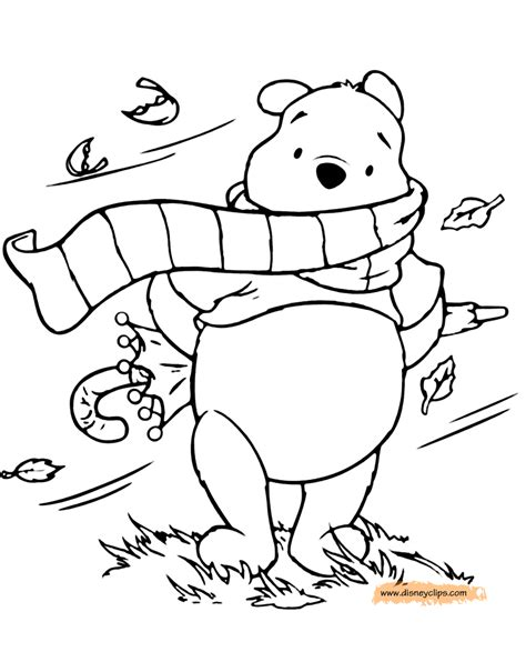 winnie the pooh printable coloring pages 6 disney
