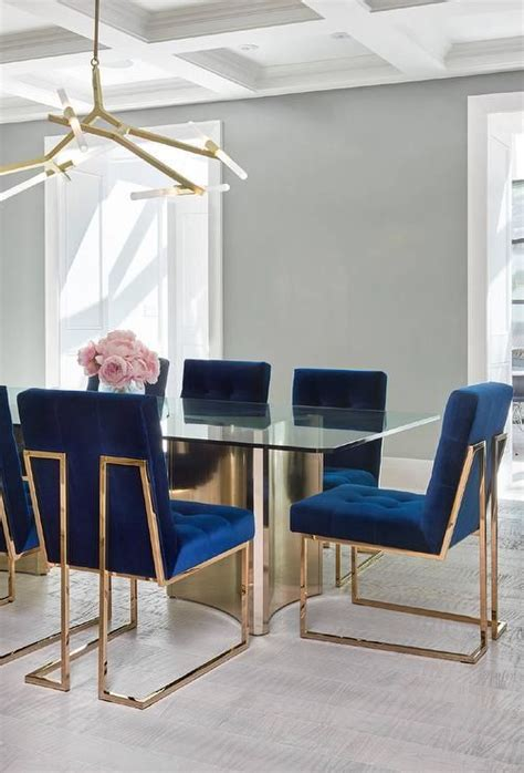 Jonathan Adler Dining Table Jonathan Adler Goldfinger Dining Chairs Dining Rooms