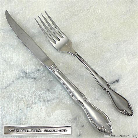 Used Kitchen Knives For Sale berkeley square oneida stainless flatware vintage 1970s