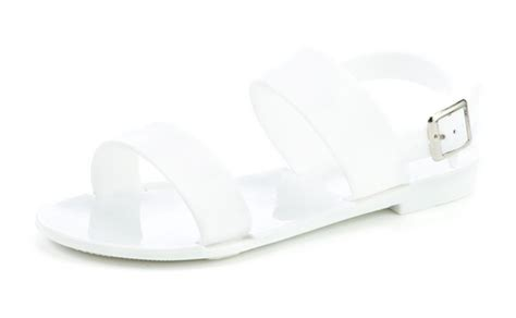 jelly sandals size 11 slingback jelly school sandals jellies black white
