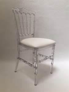 location de chaise napol 233 on transparente location mobilier