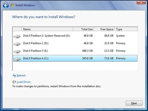 format cd on windows 7 missing quot disk options advanced quot on windows 7