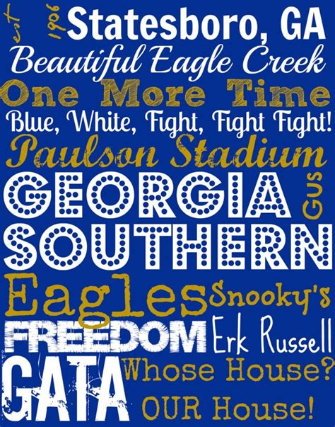 Ga Southern Mba by Pin By Southern Mba On For The Eagles Nest