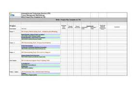 Of project plan format in excel excel project plan template project