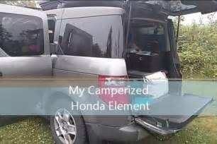 Honda Element Conversion Turns Honda Element Into A Micro Rv