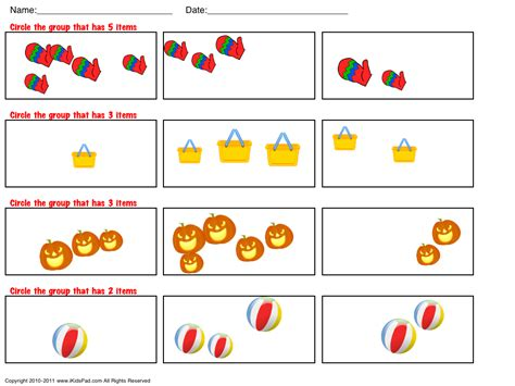 Worksheets For Toddlers Free by Math Printable Worksheets Chapter 1 Worksheet