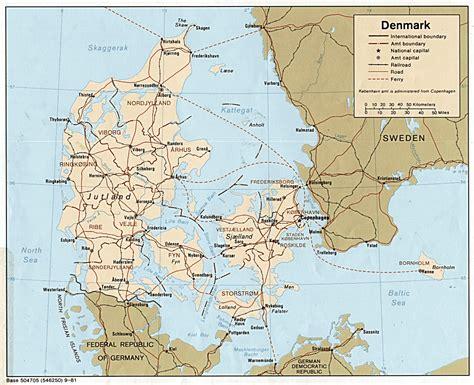 germany denmark map germany denmark map