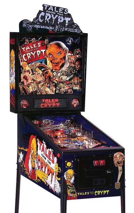 Classic Dining Room Tables Tales From The Crypt Pinball Machine Liberty Games