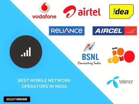 mobile phone operators best mobile network operators in india