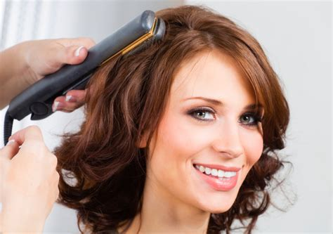 curling with a flat iron the small things blog how to spiral curl your hair with a flat iron modernmom
