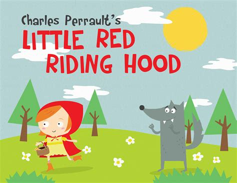 printable version of little red riding hood little red riding hood book covers on behance