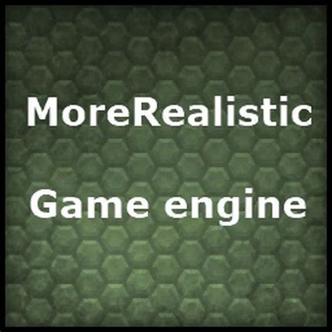 game engine mod support mod more realistic game engine v1 2 1 30 for farming