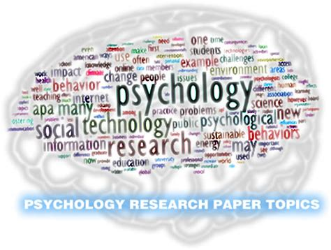 research topics in psychology for a research paper psychology research topics iresearchnet