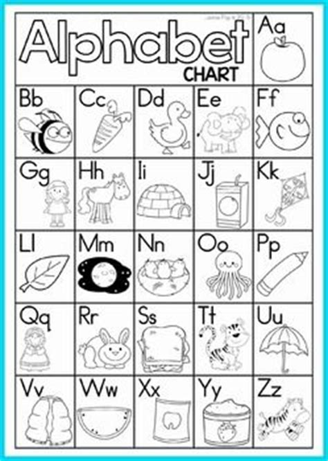 alphabet chart coloring page alphabet sounds chart black and white pictures to pin on