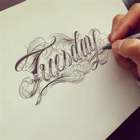 cool tattoo fonts the 25 best lettering styles ideas on