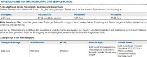 vergleich bank ordergeb 252 hren vergleich deutsche bank broker