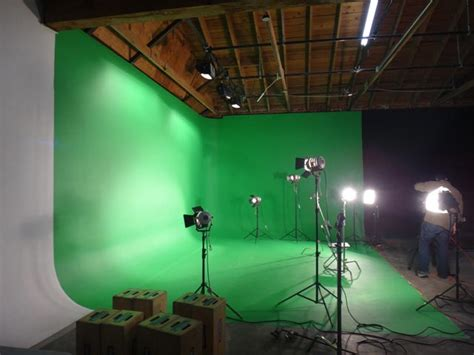budget green screen lighting green screen studio rental los angeles green white