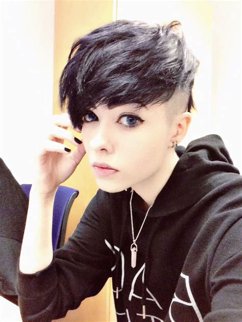 what is a nickname for shaved hair around the ear 78 best images about side cut on pinterest long mohawk