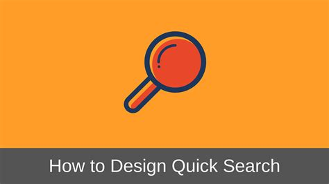 search design how to design quick search interface the complete guide