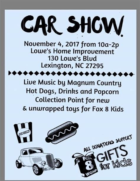 fox 8 gifts for car show lowe s home improvement