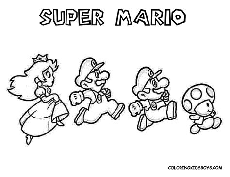 giant mario coloring pages mario coloring pages free large images