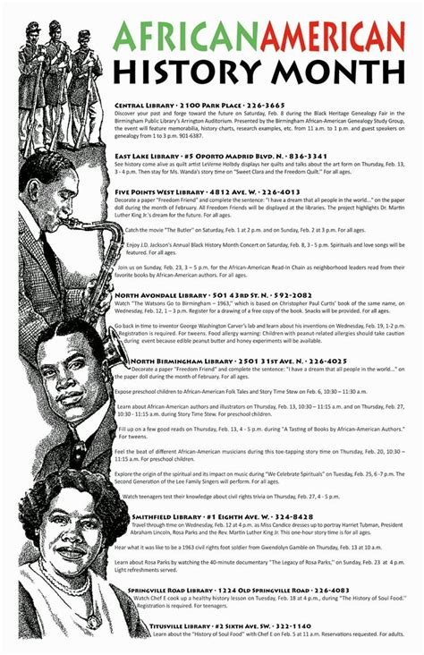 themes of black history month black history month theme 2014 cooking classes and