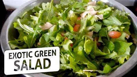 green salad recipes exotic green salad healthy and easy to make salad recipe