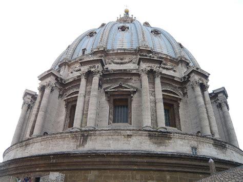 cupola di san pietro biglietti facciata prospetto e cupola di michelangelo della basilica