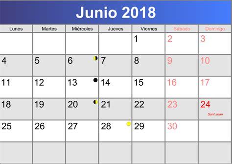 Calendario Junio 2018 Calendario Junio 2018 Imprimible Pdf Abc Calendario Es