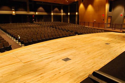 Stage Wood Flooring by Williams Sports Flooring Photo Gallery